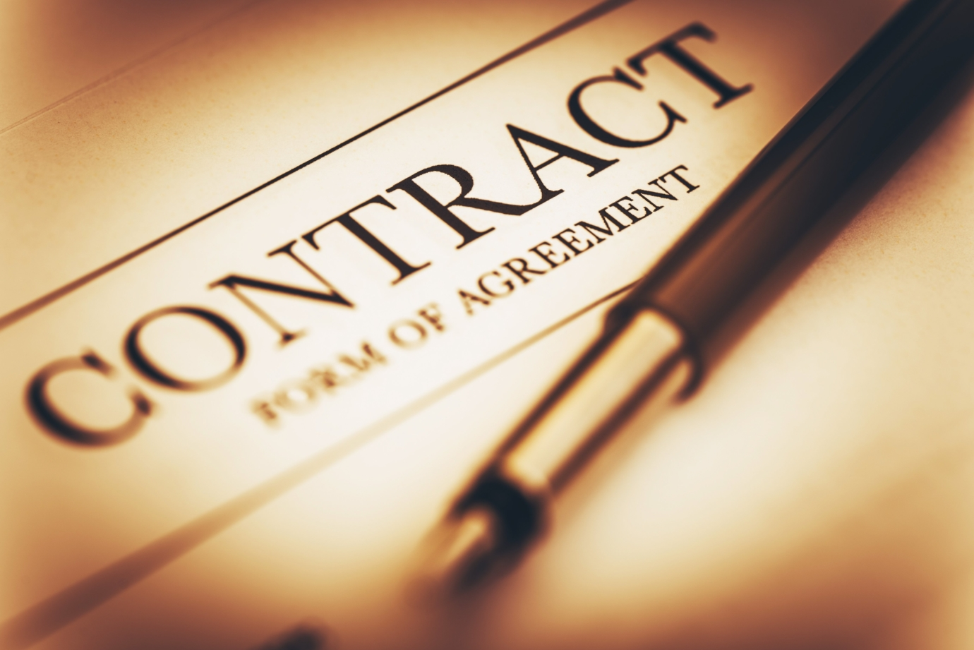 contract - form of agreement